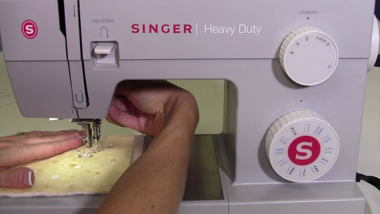 Singer Heavy Duty 4423 38 Free Motion Quilting