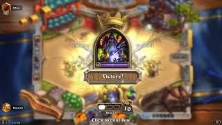 Hearthstone Witchwood Even ZOO Warlock Legend Games Long Video