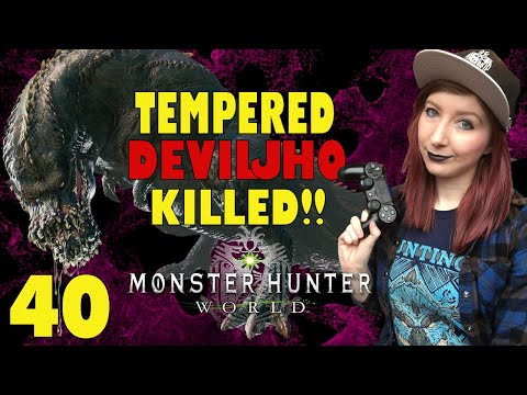 monster hunter world how to get tempered monsters