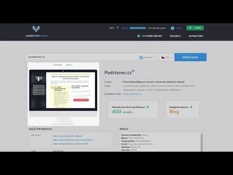 CZ: Jak používat Domain Profiler