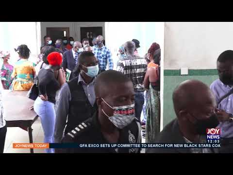 Police apologizes after some journalists were prevented from entering court -  Joy News (14-9-21)
