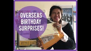 Macau Local Receives Birthday Gifts From Overseas Snail Mail Friends