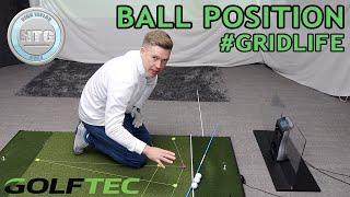 Ball Position #GRIDLIFE | Golf Tips | Lesson 94