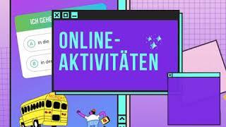 Online-Aktivitäten. Visítanos en nuestro Instagram @alemaniaenespanol