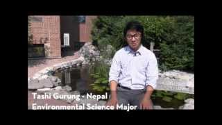 Environmental Sciences at the University of Minnesota, Crookston - Student Tashi Gurung