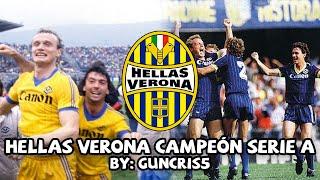 La sorprendente e inesperada LIGA ITALIANA que GANÓ el HELLAS VERONA | Serie A 1984/85
