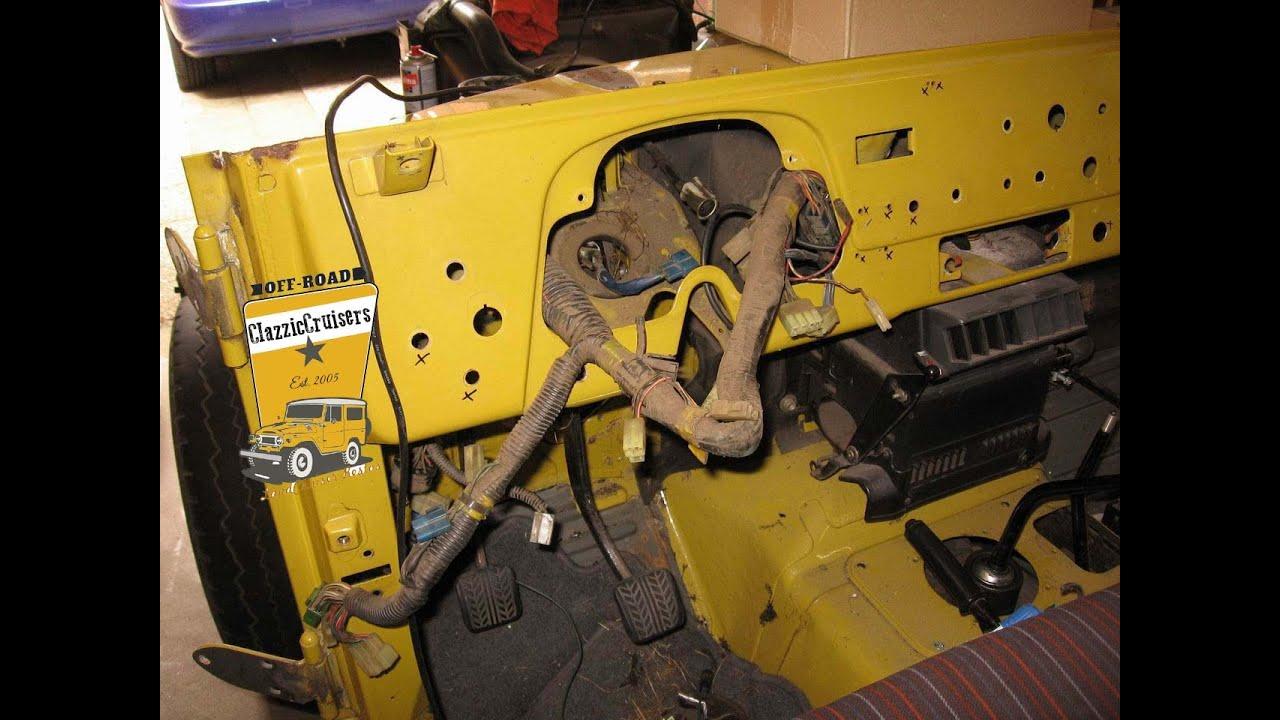 Toyota LandCruiser BJ40 BJ42 FJ40 stock wiring harness