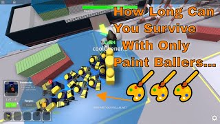 How Far Can You Go using only Paintballers? Tower Defense Simulator (Roblox)