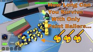 Jusqu'où pouvez-vous aller en utilisant uniquement Paintballers? Simulateur de défense de tour (Roblox)