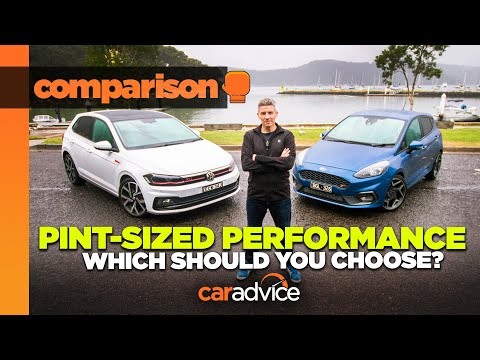 2020 Ford Fiesta St Vs Volkswagen Polo Gti Comparison Caradvice Youtube