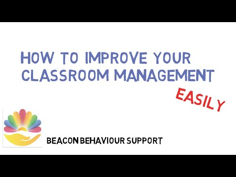 How to improve your classroom management (easily)