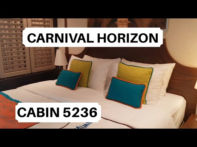 Carnival Horizon Cabin 5236 | Category HS | Havana Cabana Suite
