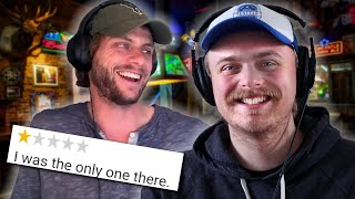 Reading Awful Small Town Bar Reviews (ft. Charlie Berens)