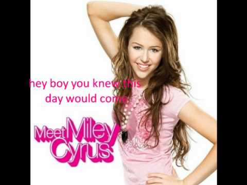 Miley Cyrus Girls Night Out lyrics