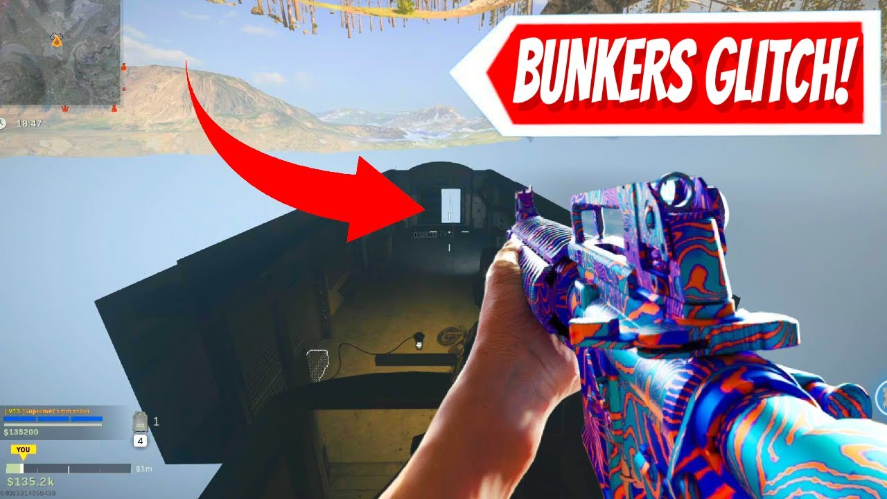 I CHECKED BUNKERS 10, 8 & 2 WITH OLD WARZONE GLITCH! (Cold War Warzone Update)