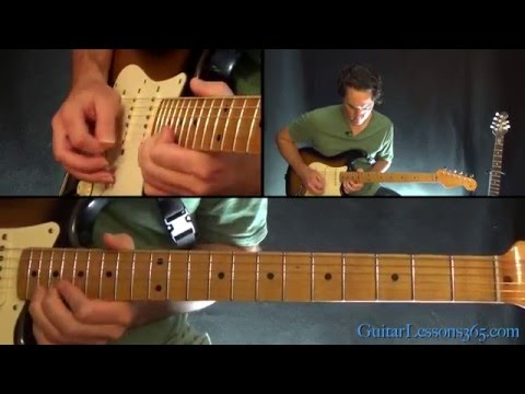 We Are The Champions Guitar Lesson Pt.2 - Queen - Solo