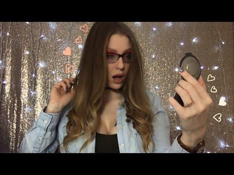 "ASMR ""YouTube Beauty Guru"" Role Play | Valentines Day Glam | Social Media Influencer Style"