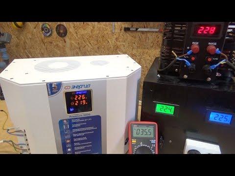 Энергия Premium 9000. Симисторный стабилизатор за 1000$