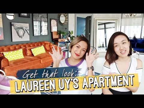 Get that Look: Laureen Uy's Apartment // Tropical Industrial Luxe // Elle Uy