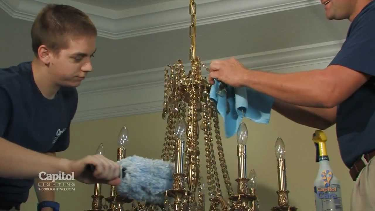 Capitol care crystal cleaning service from capitol lighting youtube capitol care crystal cleaning service from capitol lighting arubaitofo Images