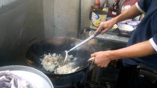 Chinese Food ( Chicken Fried rice ) ( Nasi Goreng Ayam )