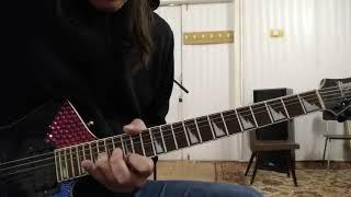Игра на гитаре. Урок 243. Круши всё на ухо группа E.S.T. партия гитары