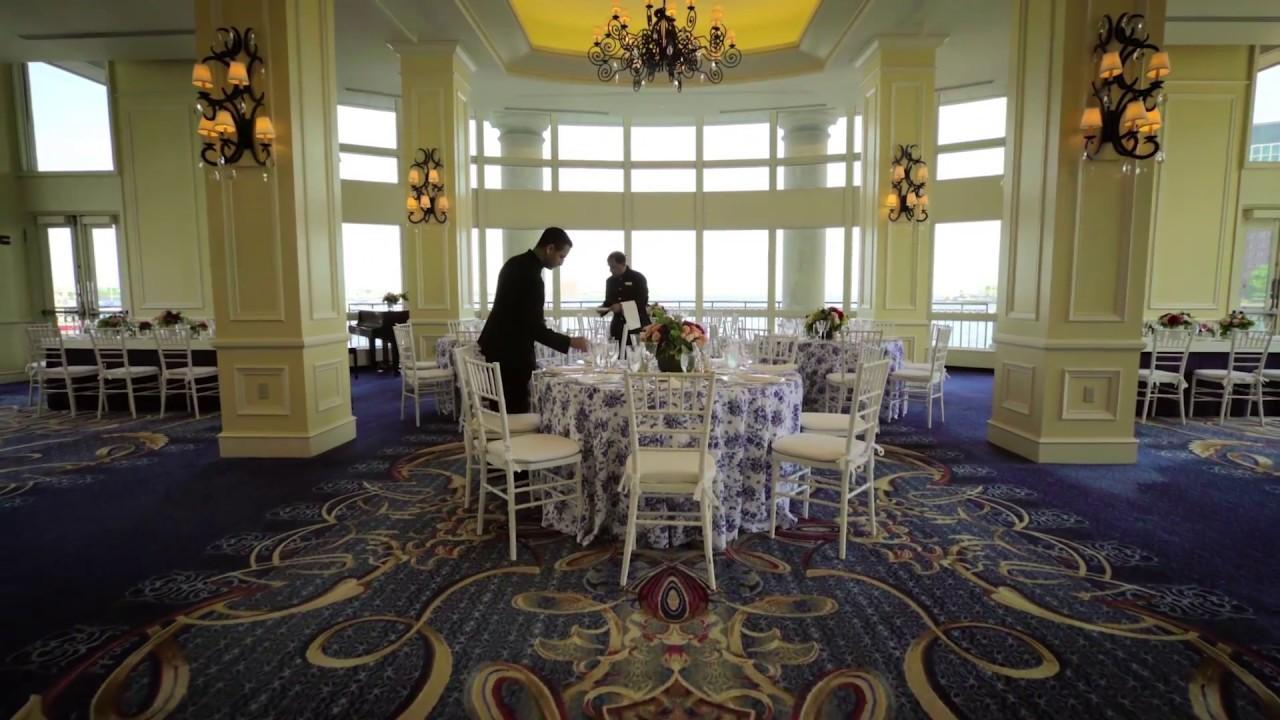 a glimpse into the wharf room at the boston harbor hotel. Black Bedroom Furniture Sets. Home Design Ideas