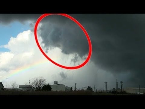 Amazing Face Of God Appears With Rainbow...