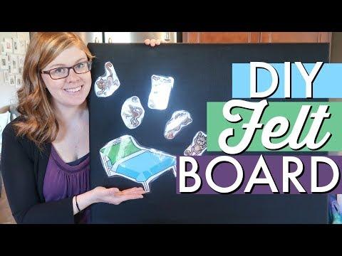 DIY Felt Board For Young Kids