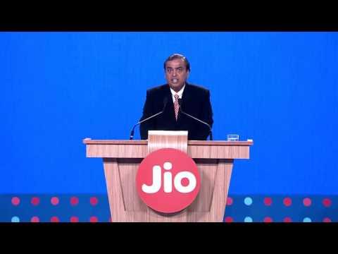 Mukesh Ambani, CMD of RIL, Announces New Reliance Jio Offers