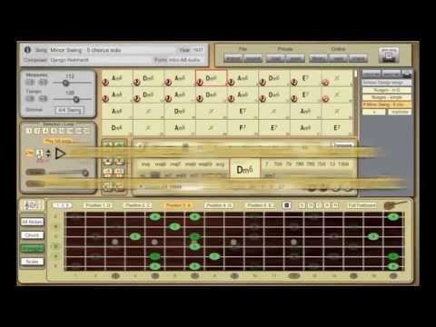 Minor Swing (Django Reinhardt) - Djangolizer Playback Demo
