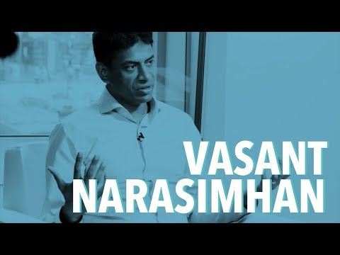 Vasant Narasimhan Novartis CEO On Transforming Pharma Industry