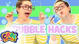 BUBBLE HACKS! | Bubble DIY and Games! | #CampYouTube Kids Crafts #WithMe Crafty Carol!