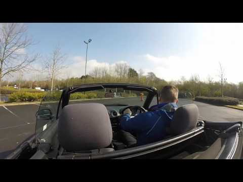 GPMC Autosolo 3rd April 2016 Preston's College RJS Mazda MX5 Stage 1