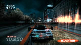 Ridge Racer Unbounded race using Ridge Racer 7 DLC car