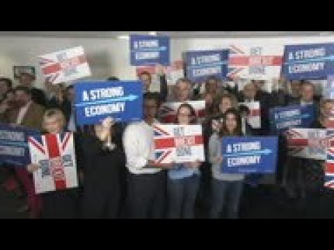 Party leaders continue to campaign around the UK