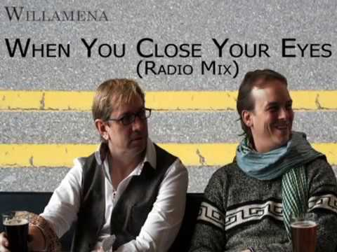 Willamena - When You Close Your Eyes (Radio Mix) (Lyric Video)