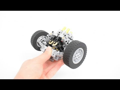 Lego Technic Realistic Pivot Point Steering With Drive