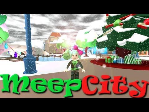 ROBLOX | Merry Meepmas | Meep City | SallyGreenGamer
