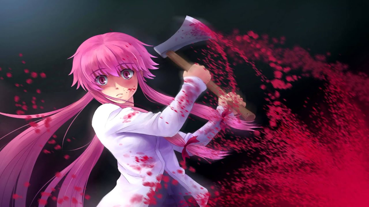 Gasai Yuno Wallpaper: Mirai Nikki OST-Yuno's Main Theme [HD]