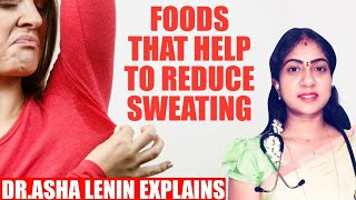 Home Remedy to Control Excessive Sweating | Dr.Asha Lenin Explains | homeopathy doctor