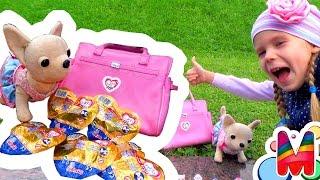 Чи Чи Лав Собачка ищет сюрпризы Chi Chi Love Simba Распаковка Мультик обзор Свадебный Бал