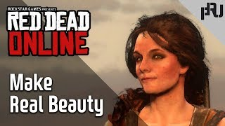 Red Dead Online _ Make Real Beauty _ female Character _ The Way of good looking character 레데리 여캐 커마