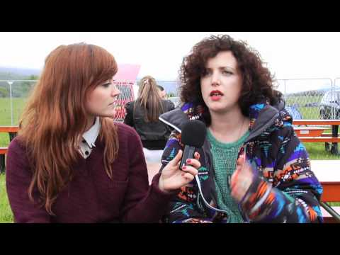 Annie Mac Interview at RockNess Festival 2012