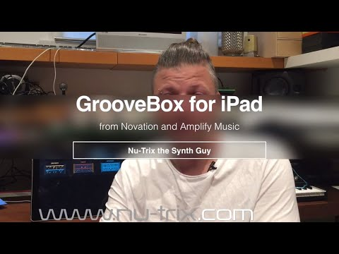 GrooveBox : one of the best free iPad music making app.