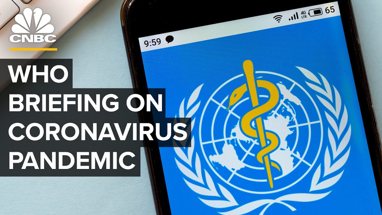 World Health Organization holds news conference on the coronavirus pandemic – 6/8/2020