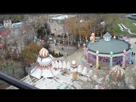 Holiday at the Park Six Flags Great Adventure 2017 Sky Ride