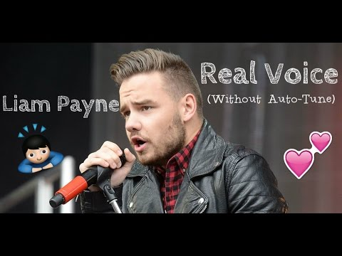 Liam Payne Real Voice (Without Auto-Tune)
