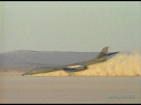 Crash Landings 3: Lakebed B-1B