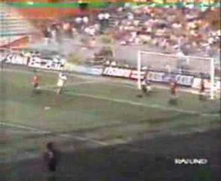 Genoa 1893 History - Genoa-Milan 2-2 1992/93 Andrea Fortunato